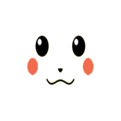 Pikachuu0027s face Transparent - Pikachu Face PNG
