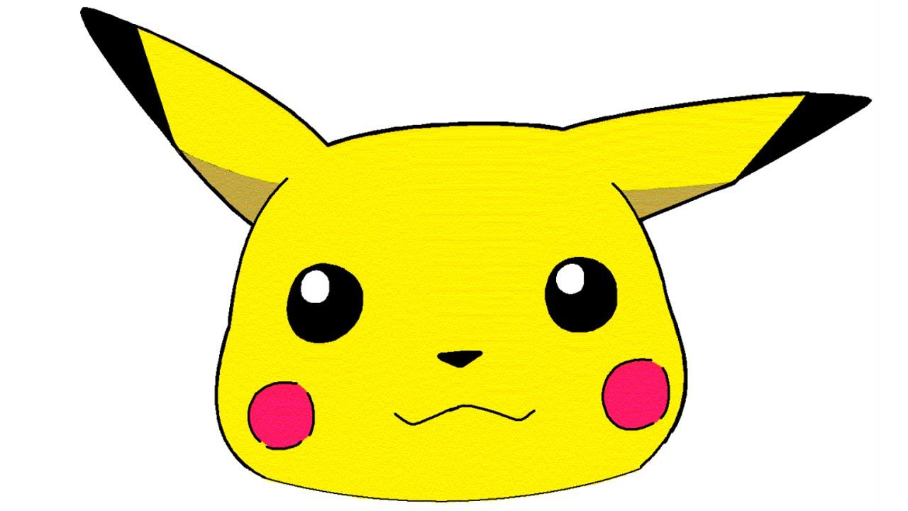 Pikachu Face PNG - 79927