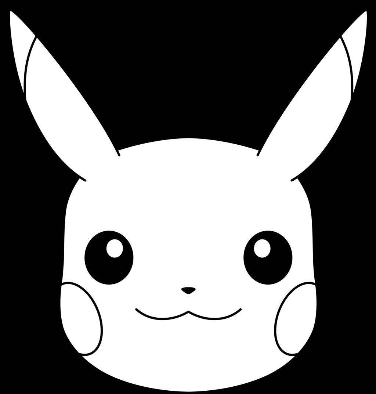 Pikachu Face PNG - 79932