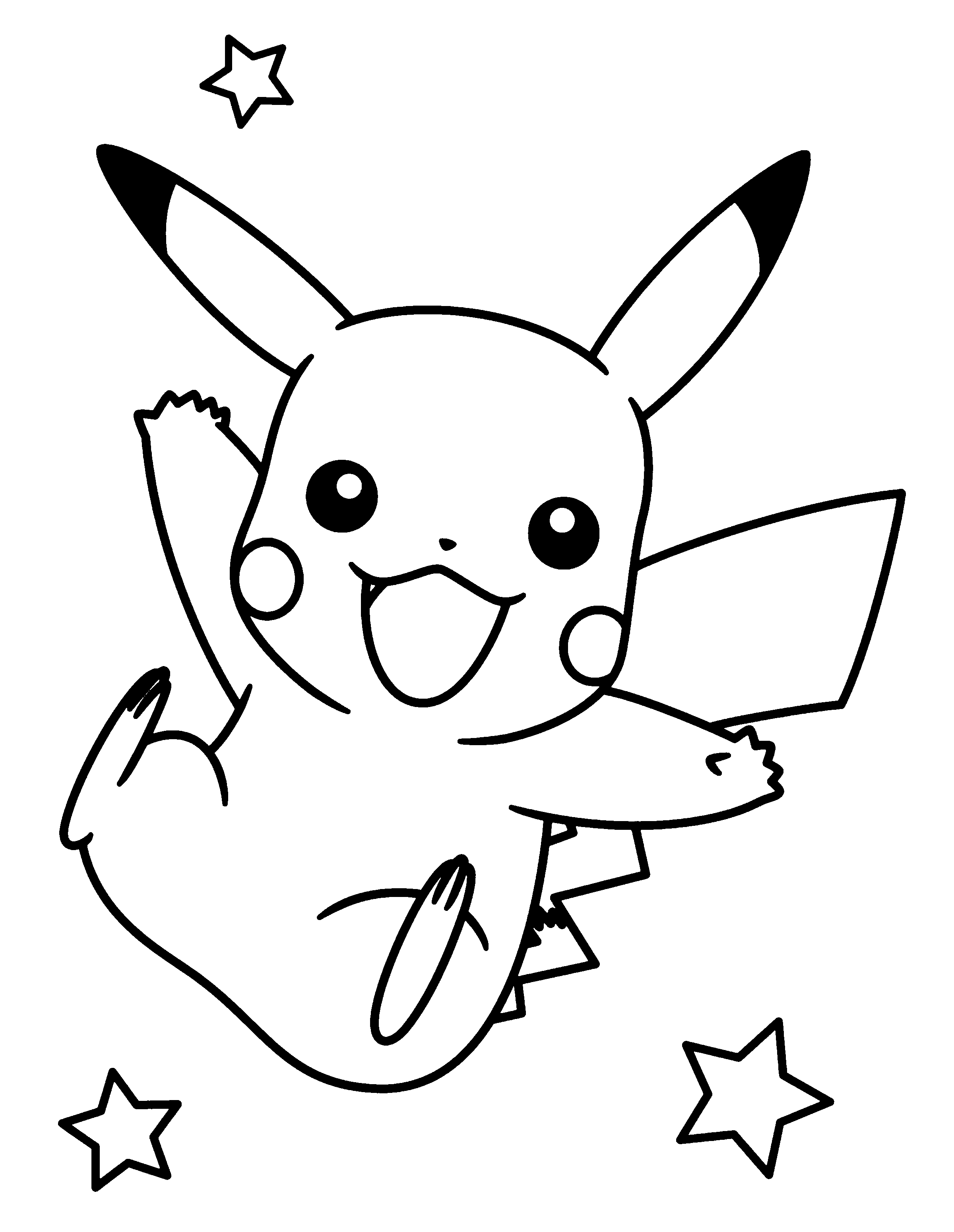 pokemon printables, pikachu a