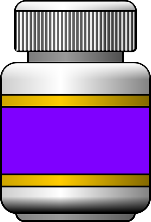 Pill Bottle, Plastic, Medicine, Pharmacy, Container - PNG Medicine Bottle - Pill Bottle PNG HD