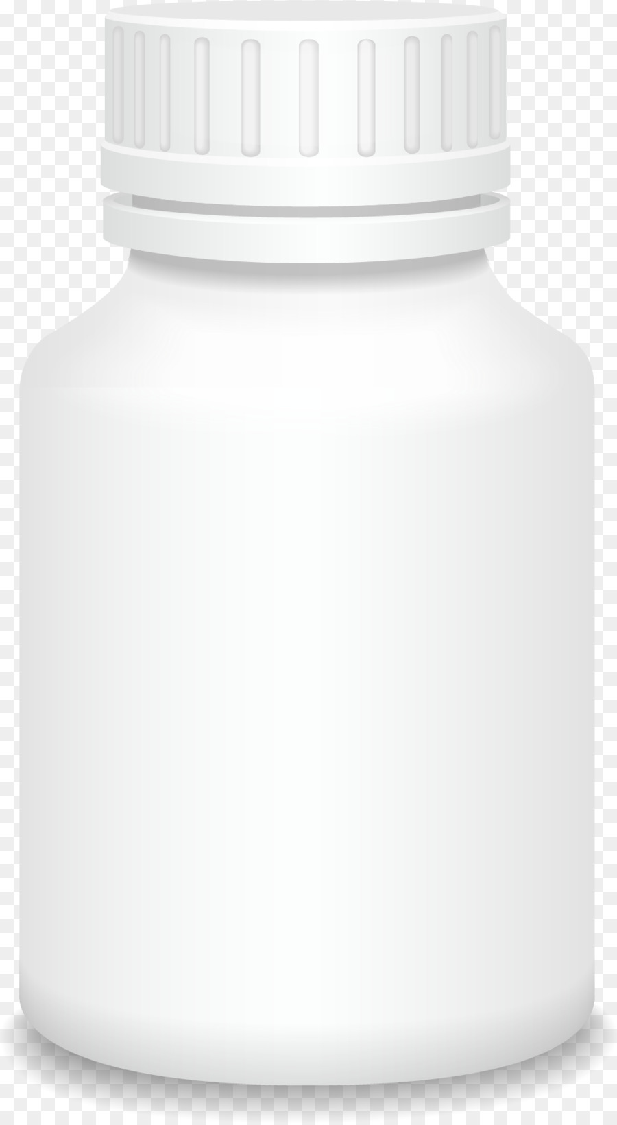 Plastic bottle - White vector medicine bottle - Pill Bottle PNG HD