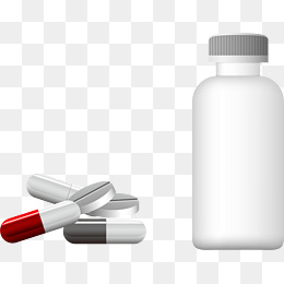Vector bottle and pills, Drug, Pill, Bottle PNG and Vector - Pill Bottle PNG HD