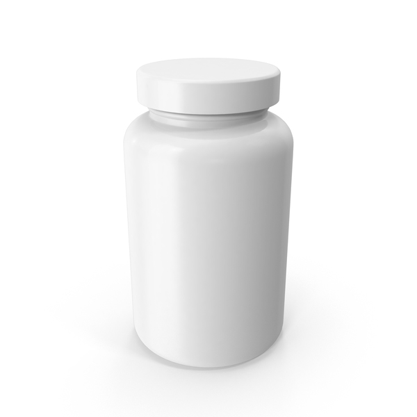 Vitamin Bottle - Pill Bottle PNG HD