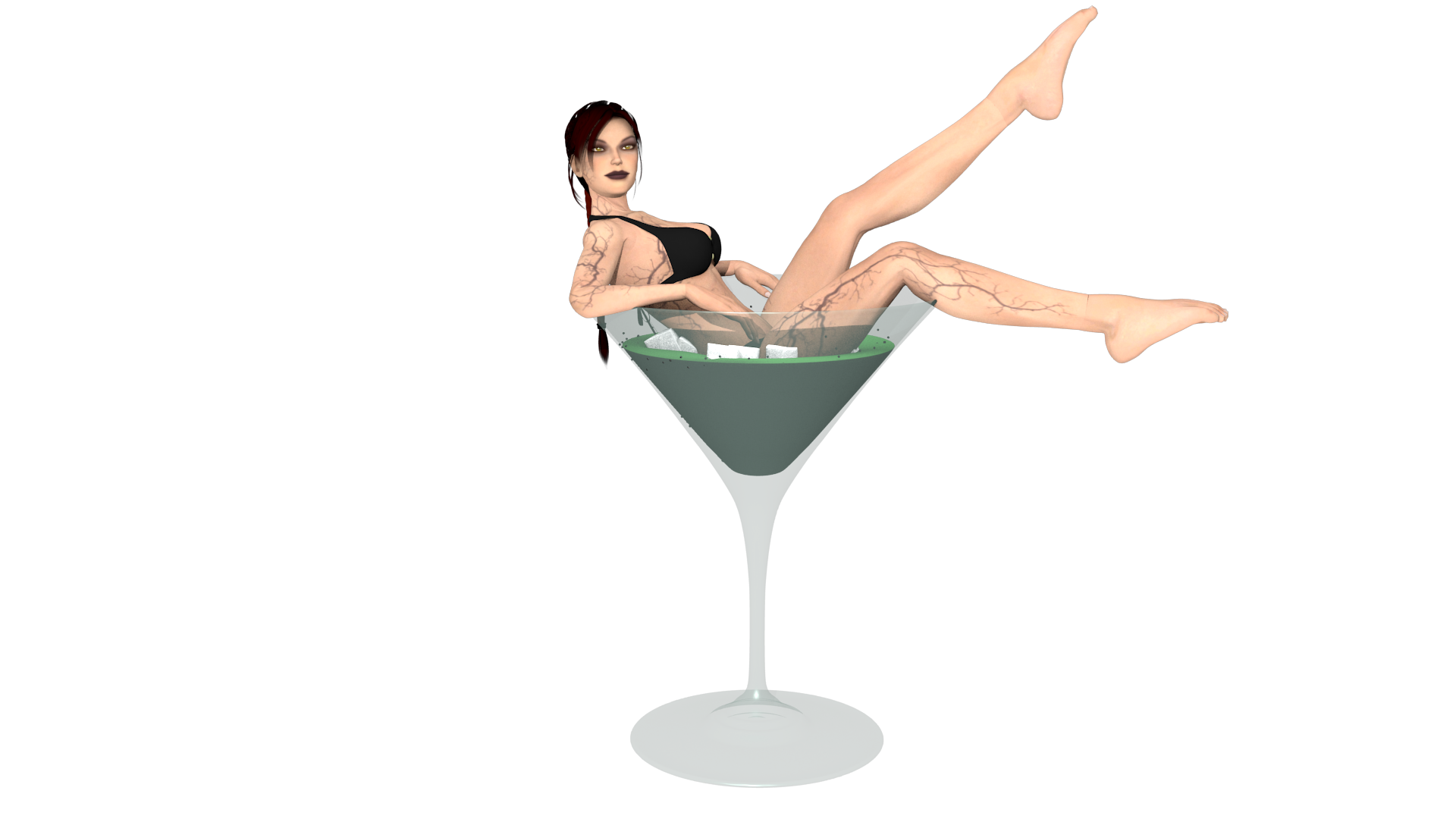 Pin Up Doppel by AlexCroft25 Pin Up Doppel by AlexCroft25 - Pin HD PNG