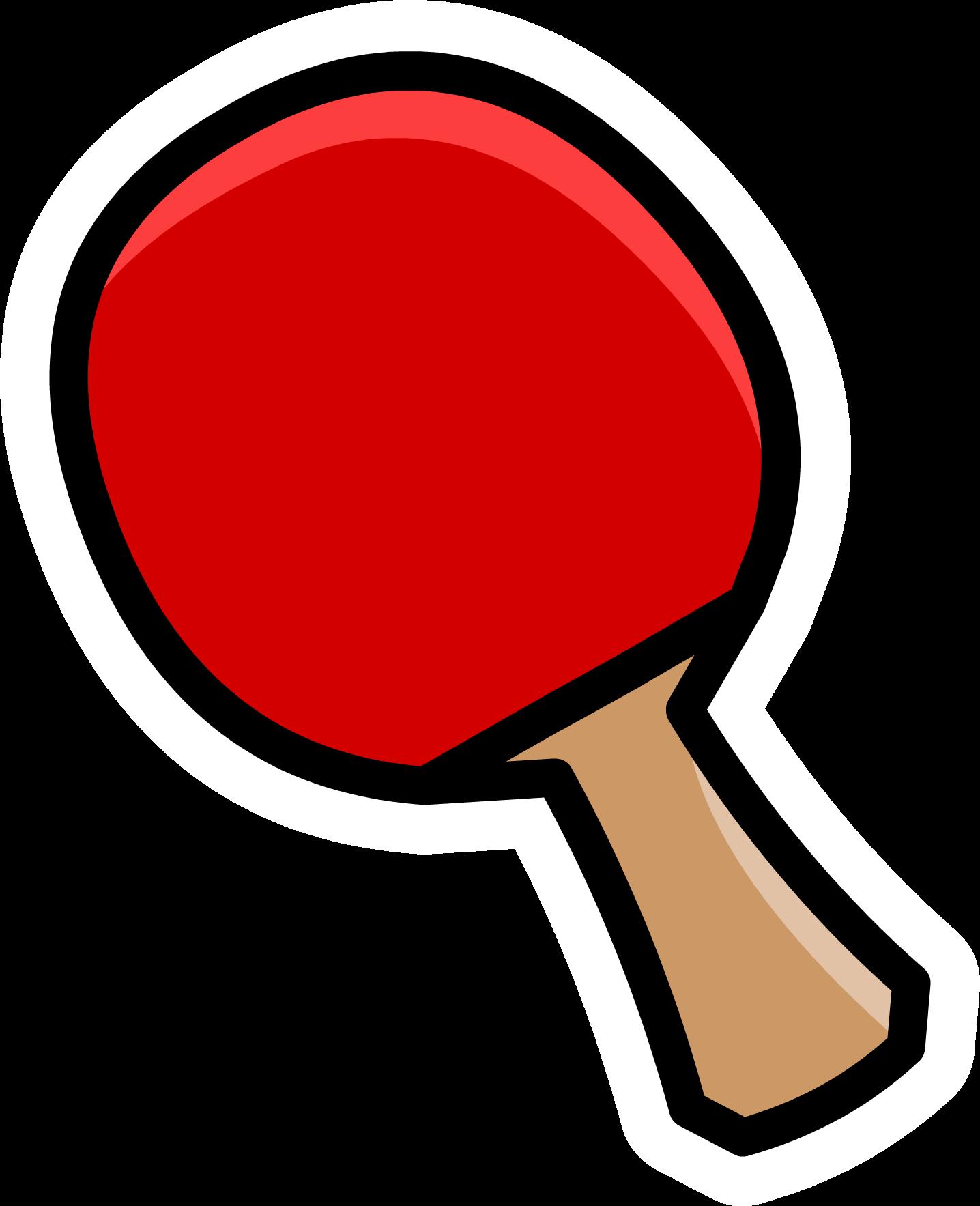 Ping Pong Paddle Pin.PNG - Ping Pong PNG