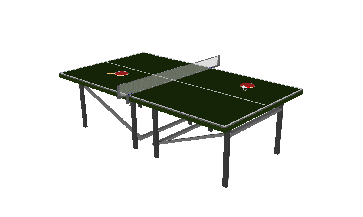 Collection of 3D Models: Games 2015 - Pingpong HD PNG