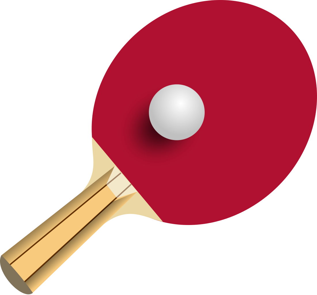 File:Table tennis.svg - Pingpong HD PNG