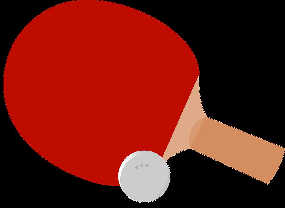 Ping-Pong, Table Tennis, Paddle, Bat, Ball, Sport, Game - Pingpong HD PNG
