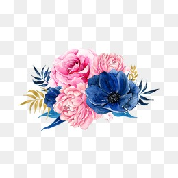 Pink And Blue PNG - 171079