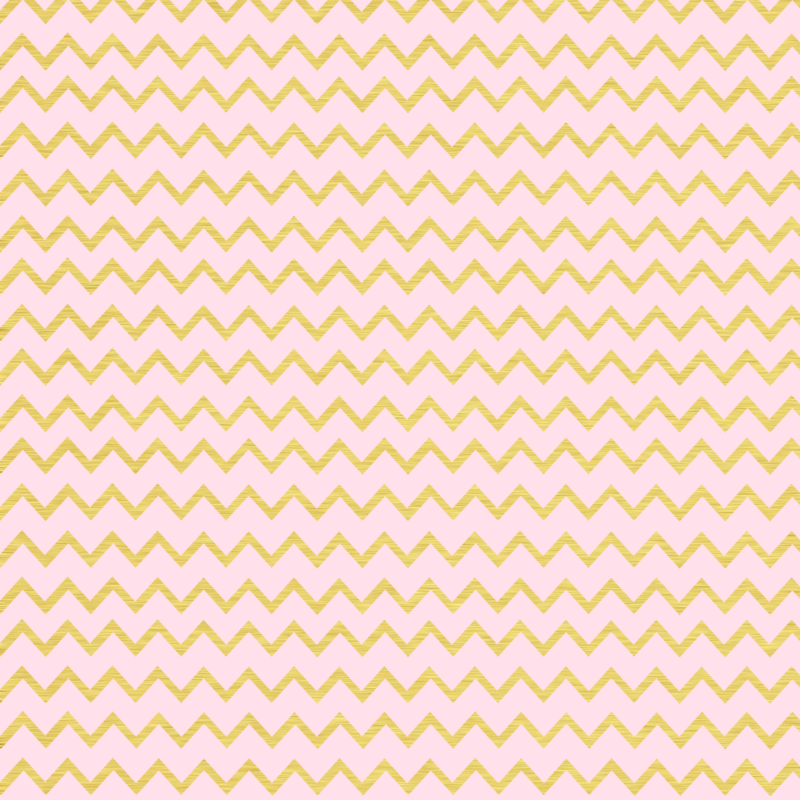 Pink And Gold Chevron Pattern by shortsweetpea PlusPng.com  - Pink And Gold PNG