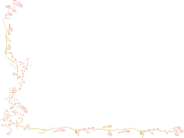 Pink And Gold Vine Clip Art at Clker pluspng.com - vector clip art online, royalty  free u0026 public domain - Pink And Gold PNG