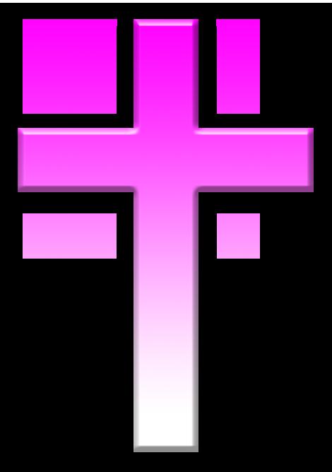 Pink Cross PNG HD - 121753