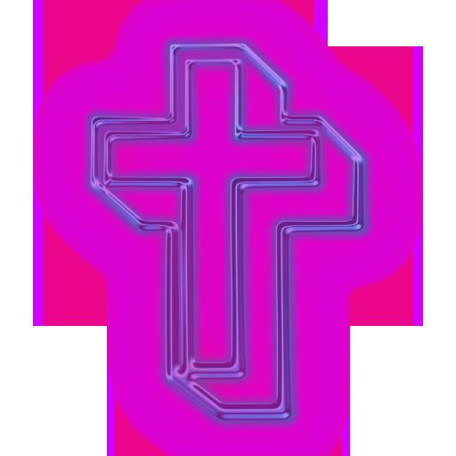 Pink Cross PNG HD - 121756
