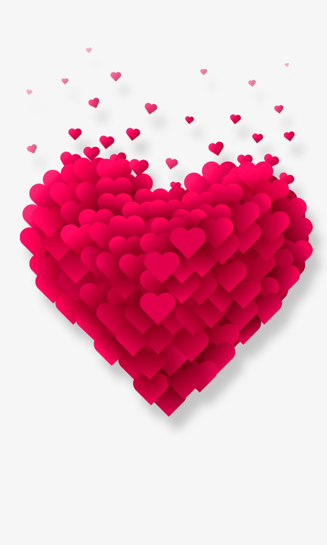 heart, Heart, Hearts, Stunning Heart-shaped PNG Image - Pink Love Heart PNG HD