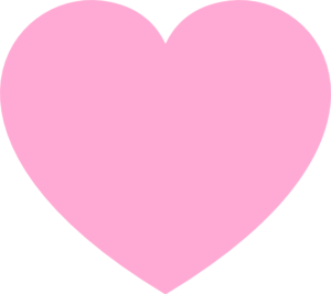 Pink Love Heart PNG HD - 122336