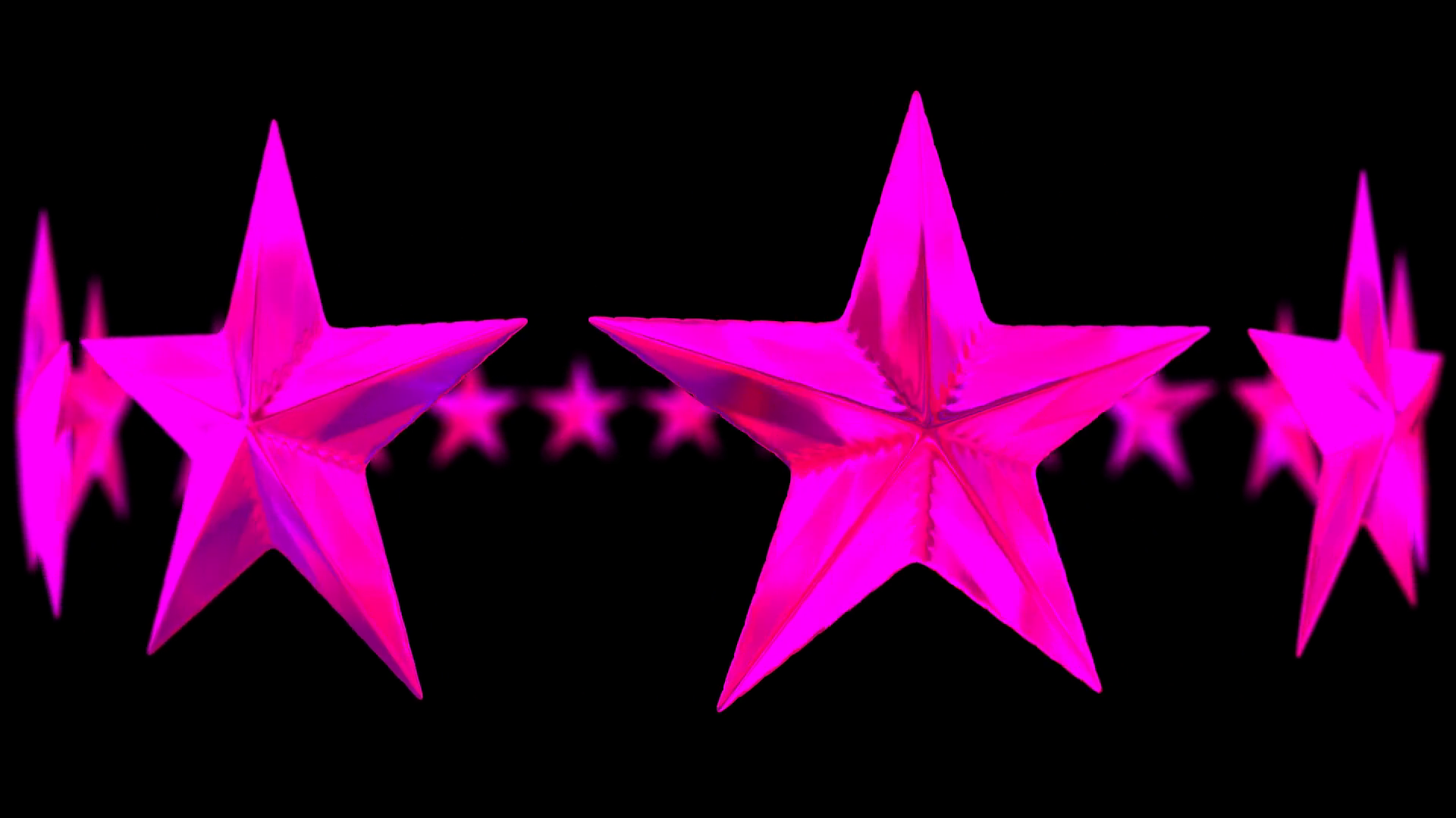 Animated rotating circle of shinning pink or magenta stars against  transparent background and with shallow depth of field. Alpha channel  embedded with PNG PlusPng.com  - Pink Star PNG HD