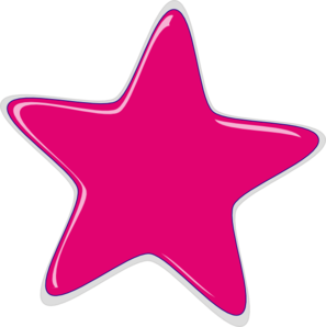 Pink Star PNG HD - 147212