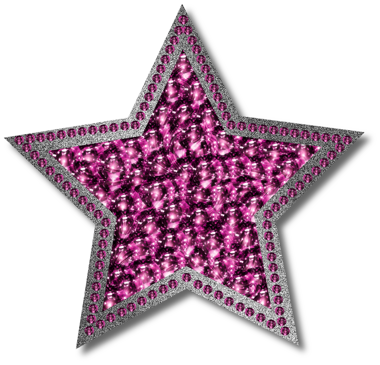 Pink Star PNG HD - 147213