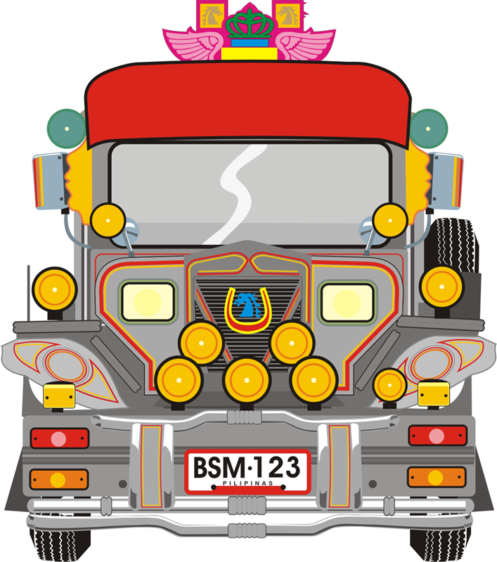 Jeepney driver cartoon
