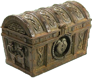 Concept Art Cursed Treasure Chest