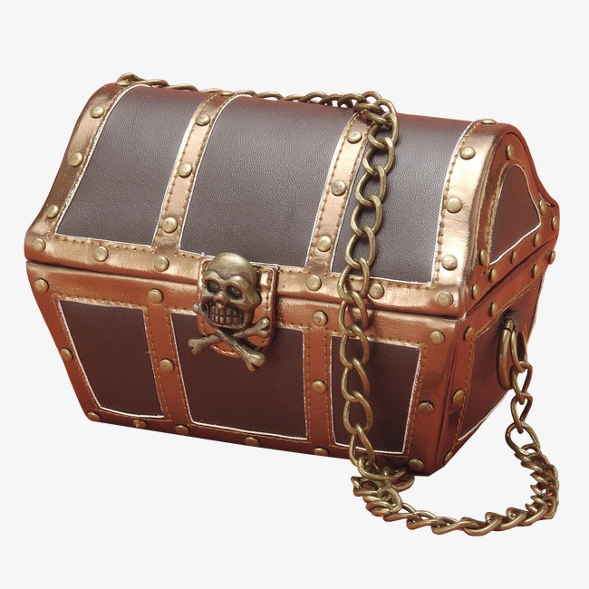 Pirate Treasure Chest PNG HD - 127732