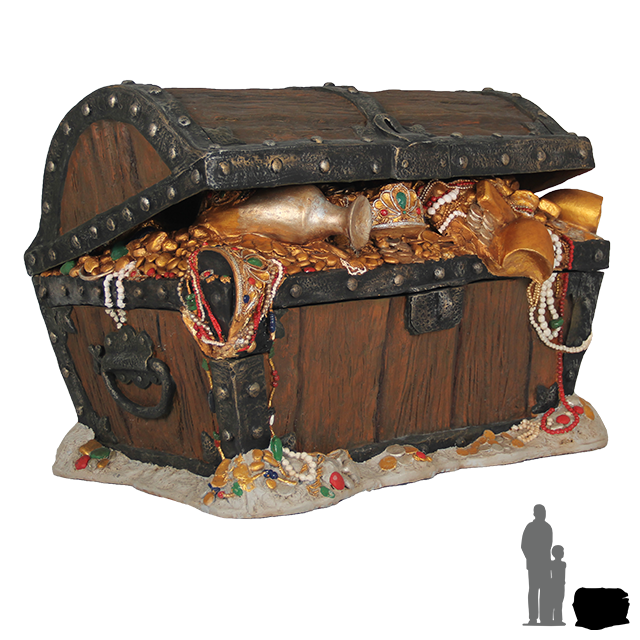Pirate Treasure Chest PNG HD - 127743