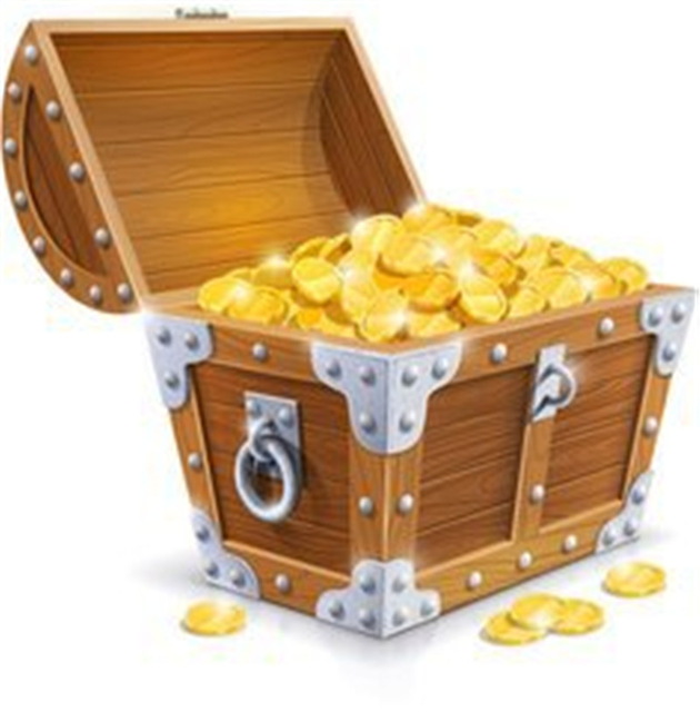 Pirate Treasure Chest PNG HD - 127737