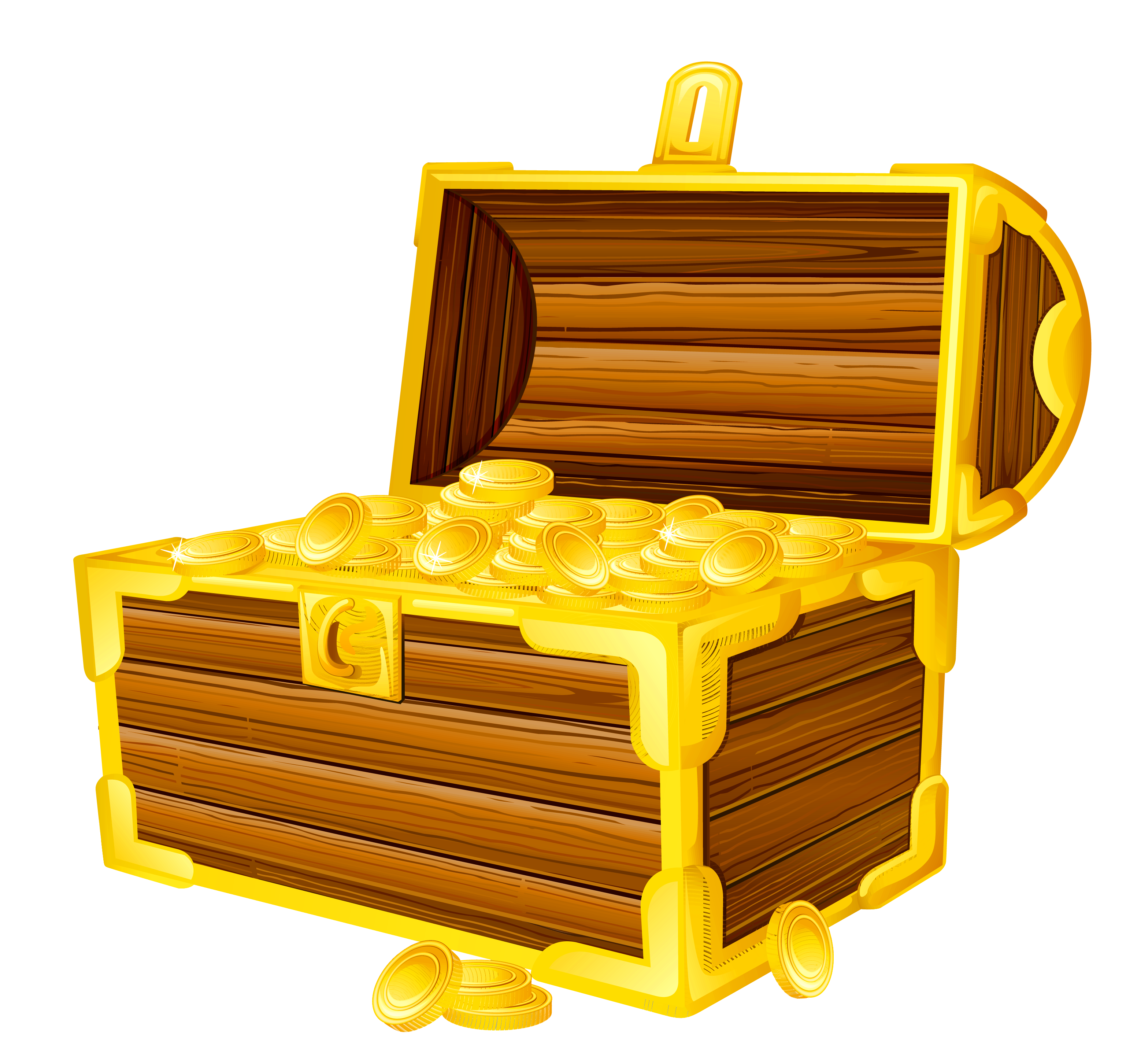 Pirate Treasure Chest PNG HD - 127740