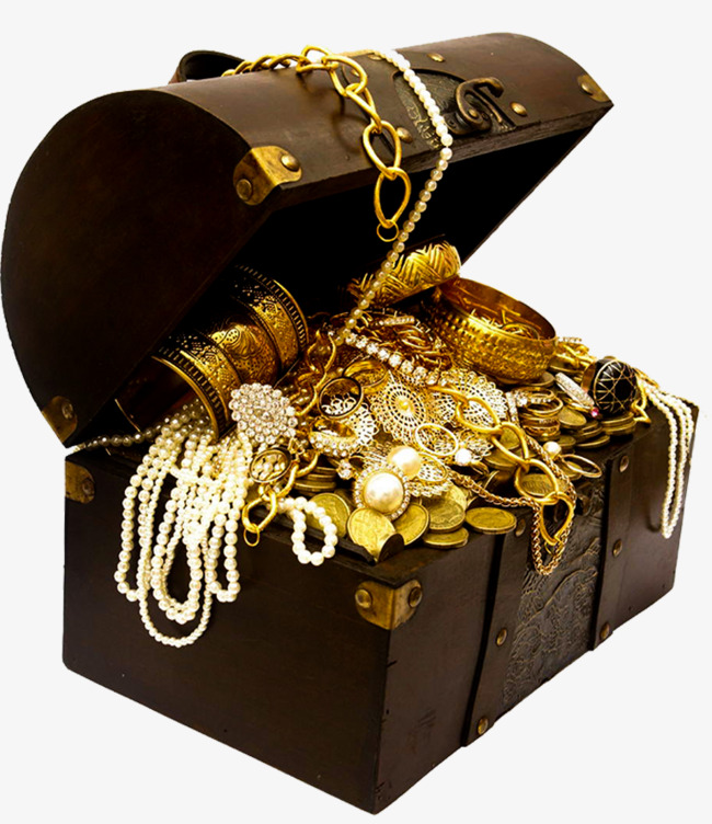 Pirate Treasure Chest PNG HD - 127741