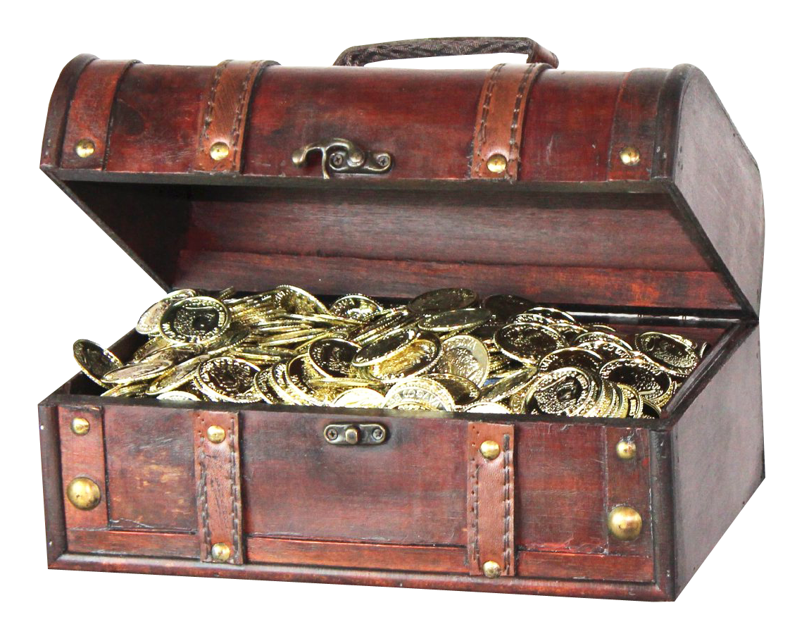 Treasure PNG-PlusPNG Pluspng.com-1149 - Treasure PNG - Pirate Treasure Chest PNG HD
