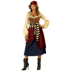 Pirate Costumes, Buccaneer Costumes and Wench Costumes from Dark Knight  Armoury - Pirate Wench PNG