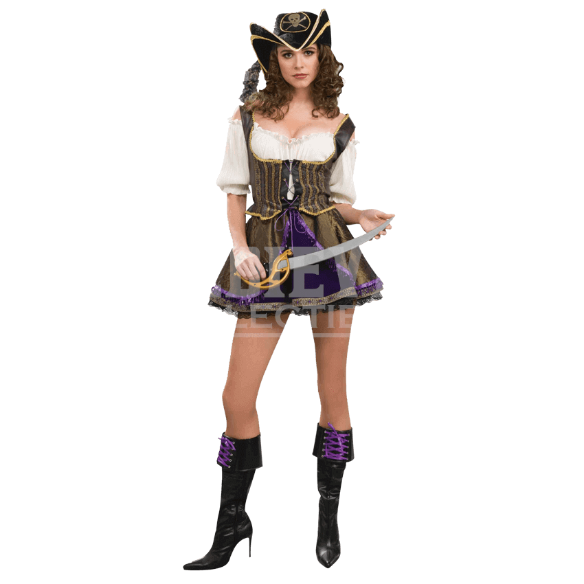 Womenu0027s Sultry Pirate Wench Costume - FM-63567 from Medieval Collectables - Pirate Wench PNG
