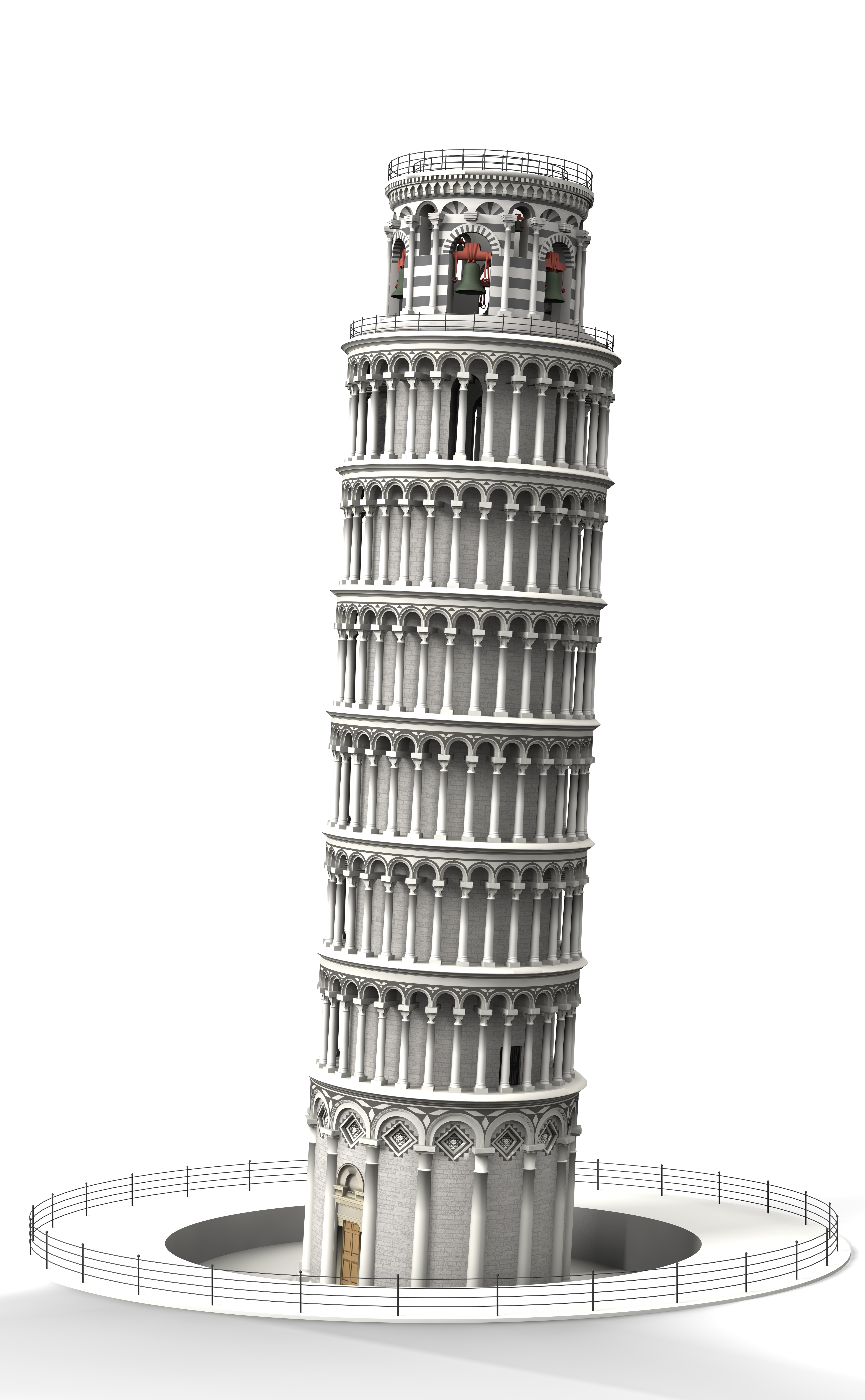 . PlusPng.com leaning tower o