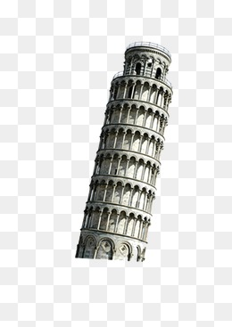 Leaning Tower of Pisa, Leaning Tower Of Pisa, Attractions, Tourism PNG and  PSD - Pisa Tower PNG