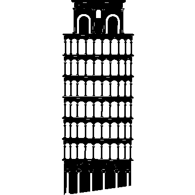 leaning tower of pisa png - G