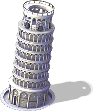 Leaning Tower.png - Pisa Tower PNG