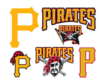 Pittsburgh Pirates Cut Files SVG Cutting