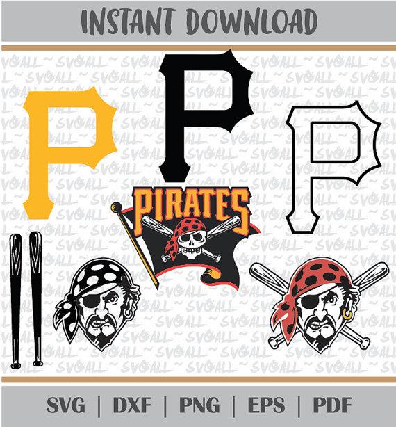 Pittsburgh Pirates Svg Files Png PDF EPS