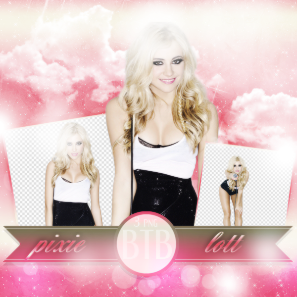 PNG Pack (98) Pixie Lott by blacktoblackpngs PlusPng.com  - Pixie Lott PNG