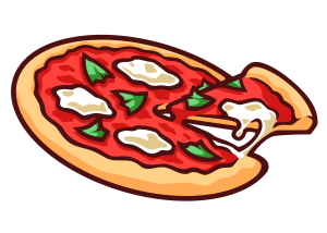 Pizza and Ice Cream Social - Pizza And Ice Cream PNG
