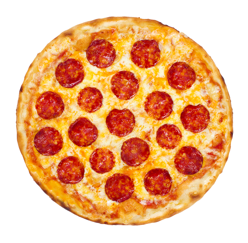 Pepperoni Pizza - Pizza PNG