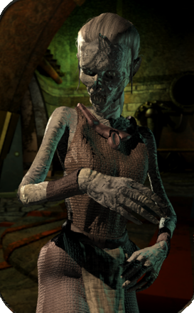 File:Zombie female.png - Planescape Torment PNG