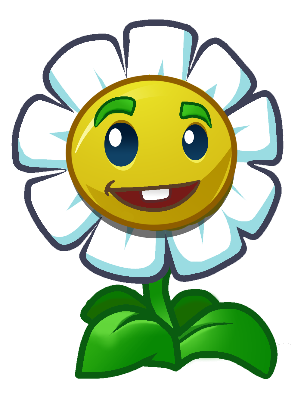 Marigold another HD.png - Plants V Zombies HD PNG
