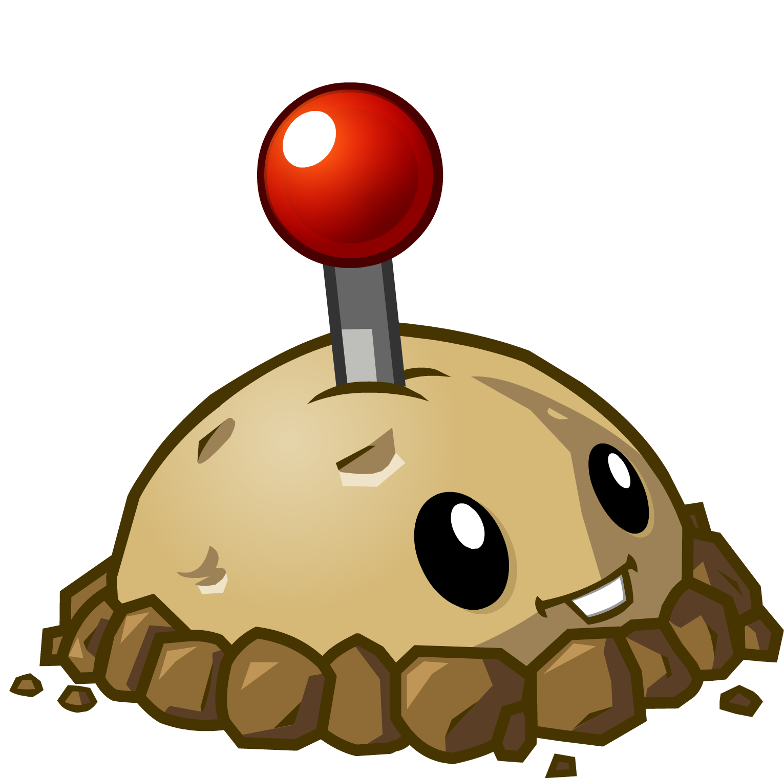 Potato Mine HD.png - Plants V Zombies HD PNG