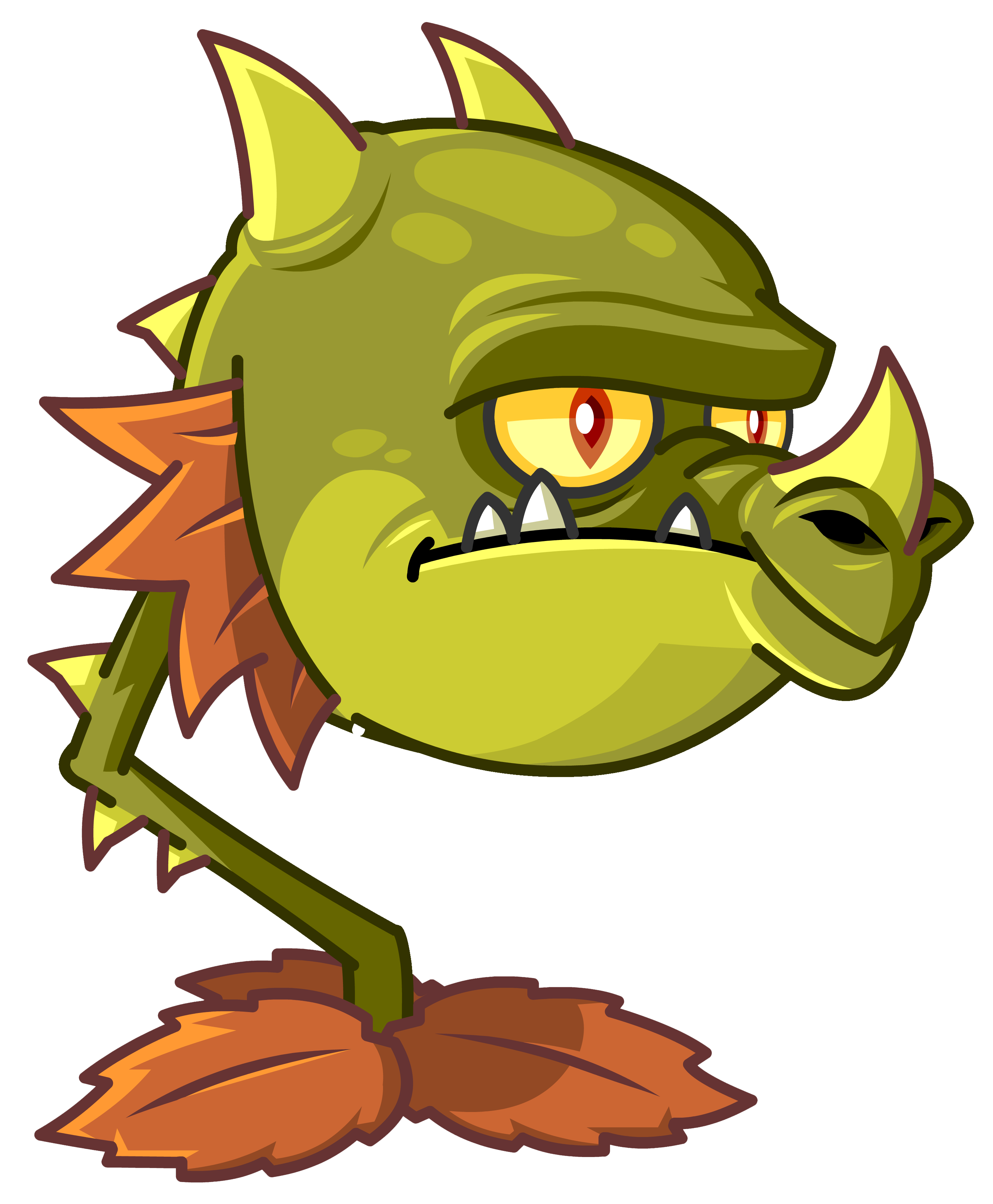Plants V Zombies HD PNG - 92700