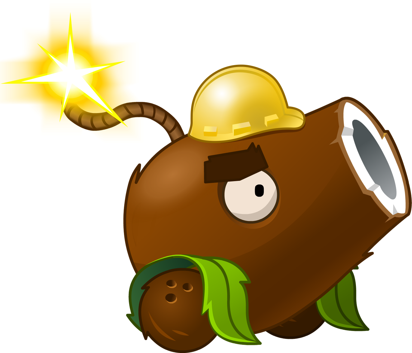 Image - Coconut Cannon(Halloween).png | Plants vs. Zombies Wiki | Fandom  powered by Wikia - Plants Vs Zombies PNG