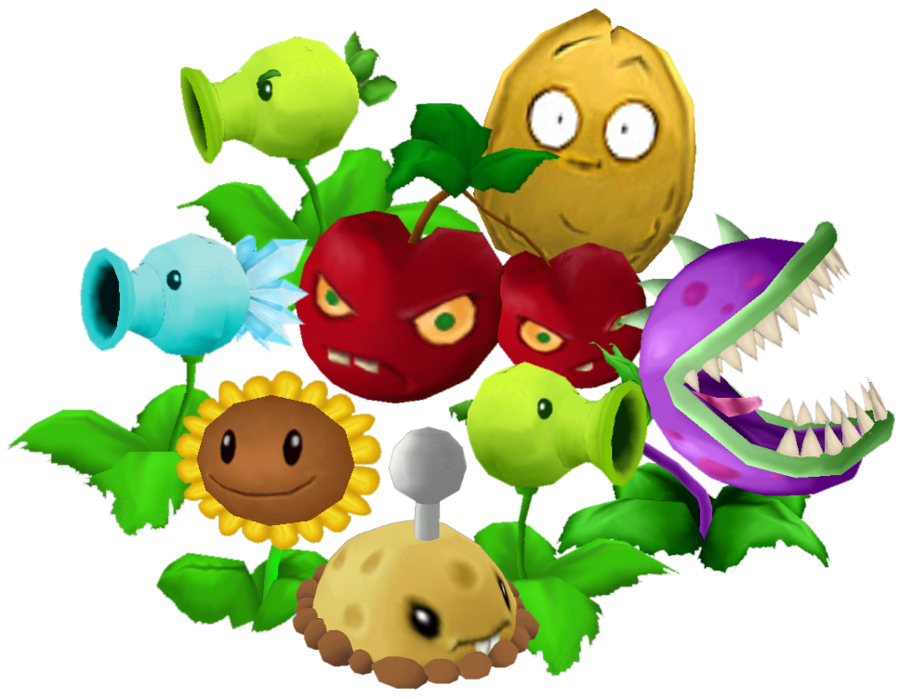 Image - Plants vs zombies day set by aaronvft-d4h4bhm.png | Plants vs.  Zombies Wiki | Fandom powered by Wikia - Plants Vs Zombies PNG