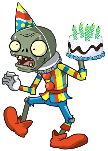 Jestercake.png - Plants Vs Zombies PNG