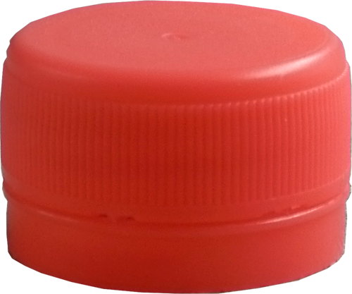 28mm Plastic Tamper-Evident Bottle Caps - Standard Colors - Plastic Bottle Caps PNG